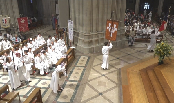 All Saints' Acolytes at National Acolyte Festival